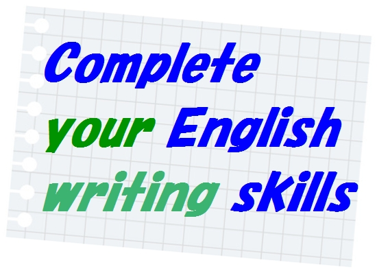 complete your english writing skills